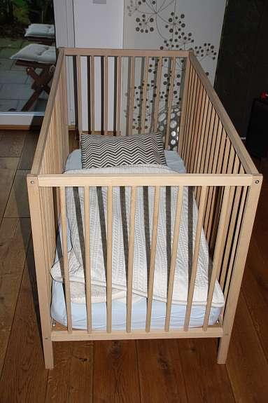 Ikea Babybett Buche Neuwertig Mit Matratze Hoork Com