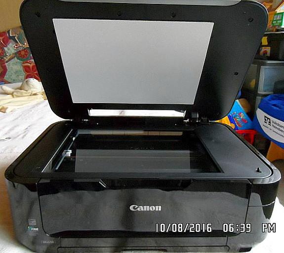 tintenauffangbehälter voll canon