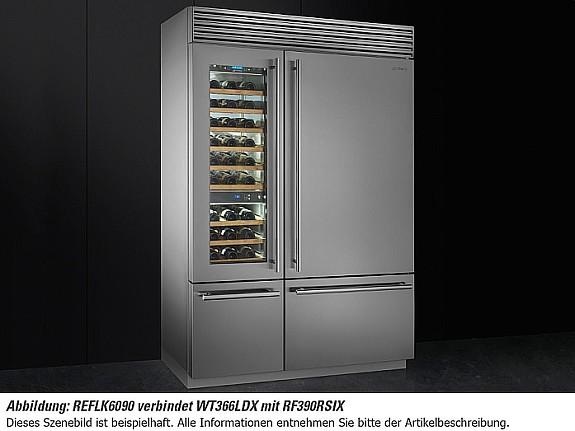 Smeg Kühlschrank French Door : Smeg rf rsix stand kühl gefrier kombination edelstahl