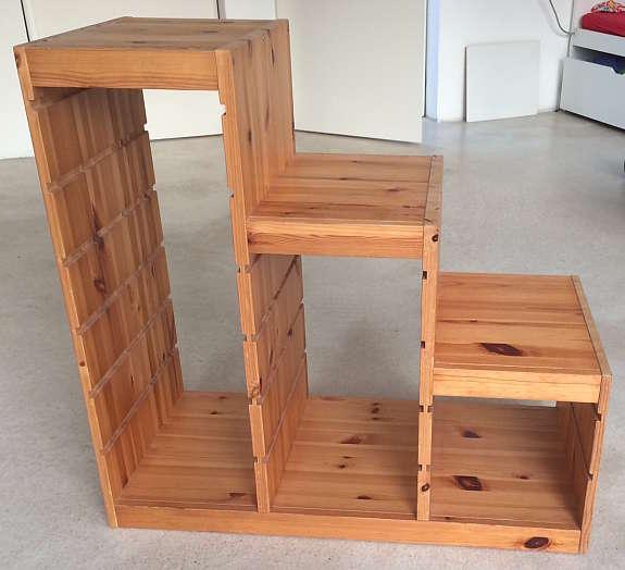 Ikea Trofast Aufbewahrung Regal Treppe Stufen Furs