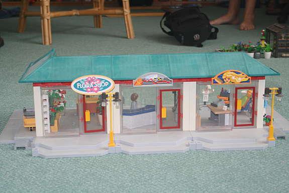 Playmobil 3 Ladenlokale Mit Frisor Sparkasse Blumenladen Mit