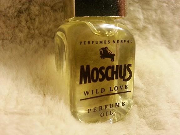 Wild oil moschus love perfume moschus perfume