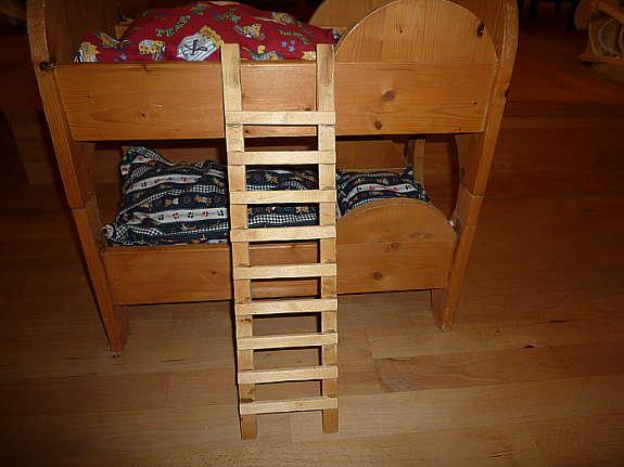 Puppen Etagenbett Holz : Holz spielzeug etagenbett bett für puppen größe