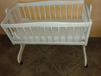 Babywiege beistellbett wiege babybett hoork