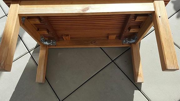 kleiner holz gartentisch gartentisch selber bauen table frame with kleiner holz gartentisch. Black Bedroom Furniture Sets. Home Design Ideas