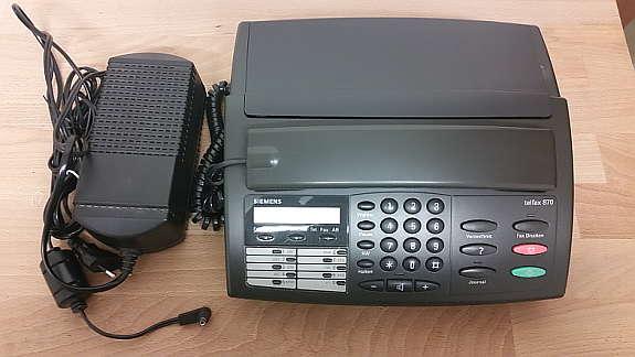Siemens telfax hoork