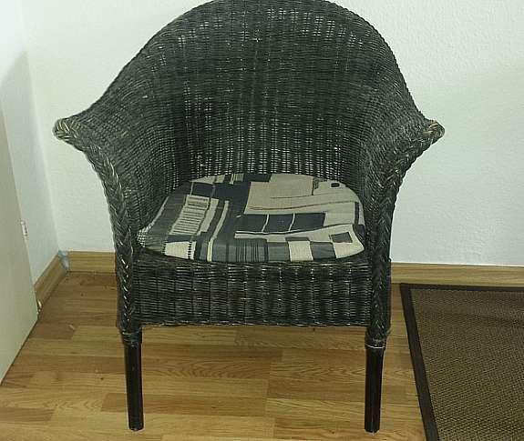 korbstuhl schaukel cheap jutegarn m im glas mit deckel with korbstuhl schaukel interesting. Black Bedroom Furniture Sets. Home Design Ideas
