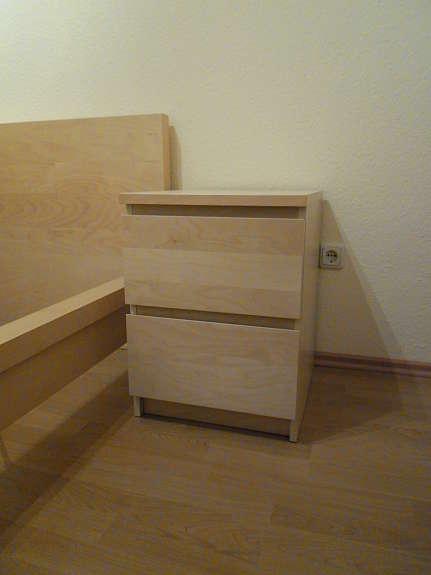 Bett Ikea Malm Birke Mit Kommoden Hoork Com