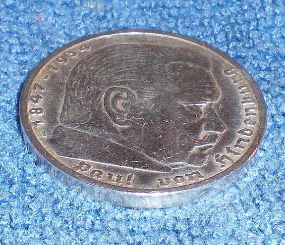 Münze 5 Reichsmark Hindenburg Adler Fp Hoorkcom
