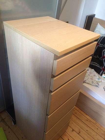 Ikea Malm Kommode Spiegel 6schubladen Hoork Com