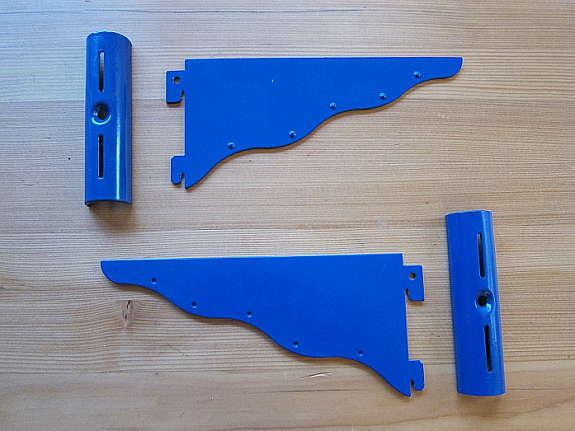 Regalaufhängung blaue regal aufhängung für einzelnes brett hoork com