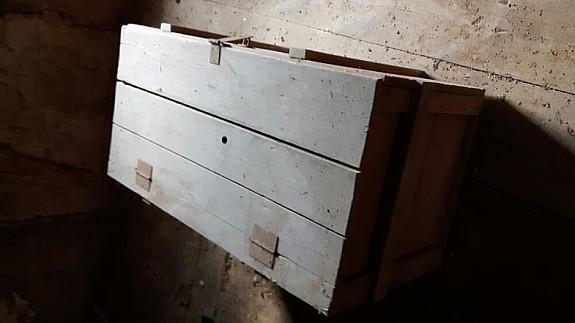Alte Holztruhe 3
