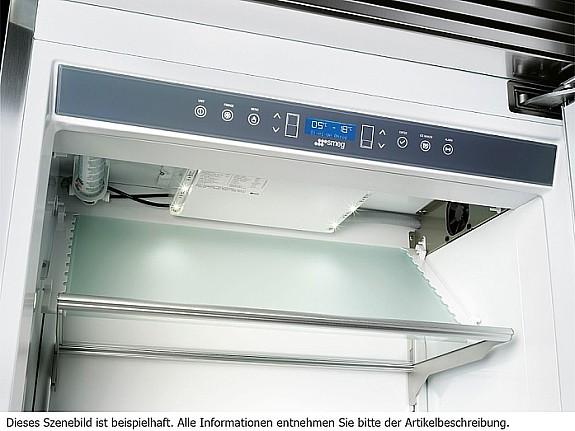 Smeg Kühlschrank Silber : Smeg rf rsix stand kühl gefrier kombination edelstahl