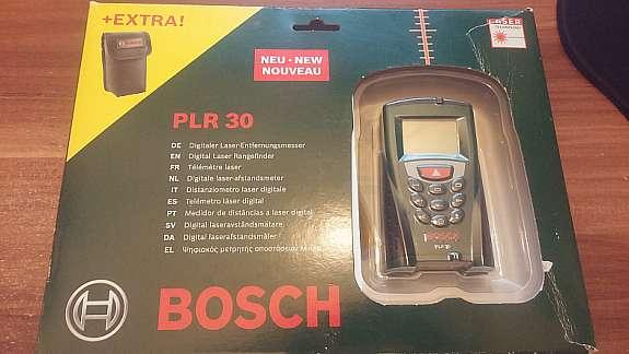 Bosch Entfernungsmesser Plr 30 : Bosch plr digitaler laser entfernungsmesser hoork