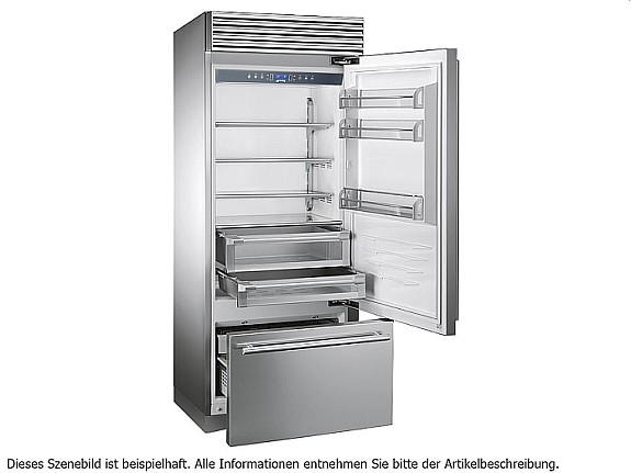 Smeg Kühlschrank 70 Cm : Smeg rf rsix stand kühl gefrier kombination edelstahl