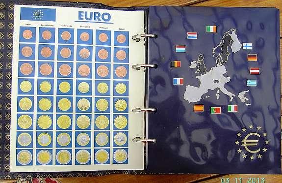 Euro Sammelalbum Leuchtturm Leer 12 Länder Hoorkcom