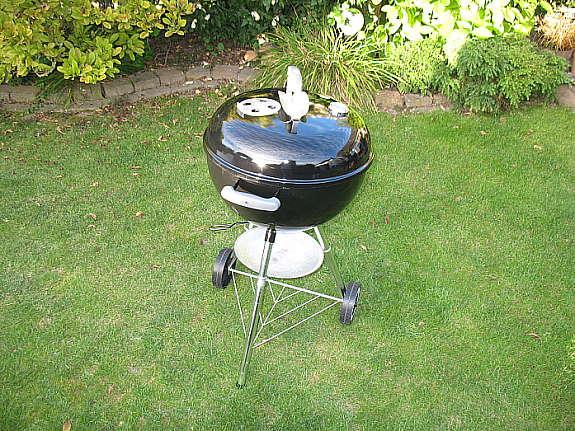 Weber Holzkohlegrill 57 Cm Gebraucht : Weber kugelgrill original kettle 47 cm holzkohle grill gebraucht 1