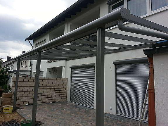 Terrassenuberdachung Carport Uberdachung Vordach Aluminium 1