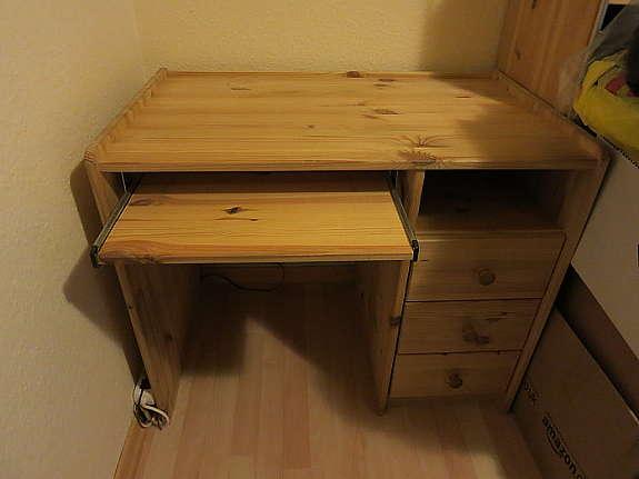 Kleiner Schreibtisch Kiefer Massiv Gelaugt Geölt Hoorkcom