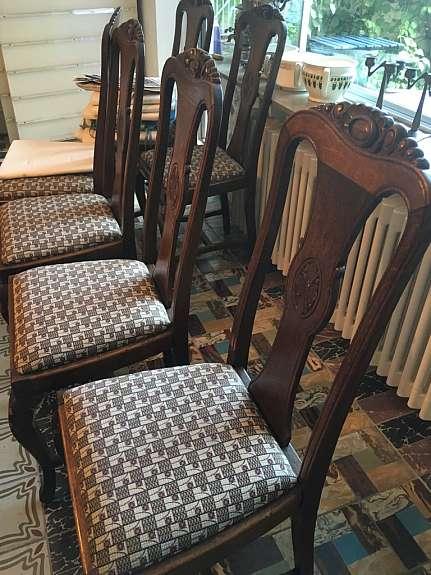 Antiker Esstisch Ausziehbar Mit 12 Stühlen Hoorkcom