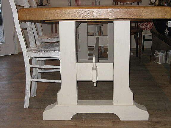 Großer Tisch Küchentisch Eßtisch Klostertisch Landhaus Shabby Chic