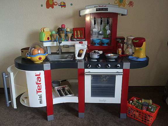 Tefal Küche | Kinderkuche Mini Tefal Smoby Hoork Com