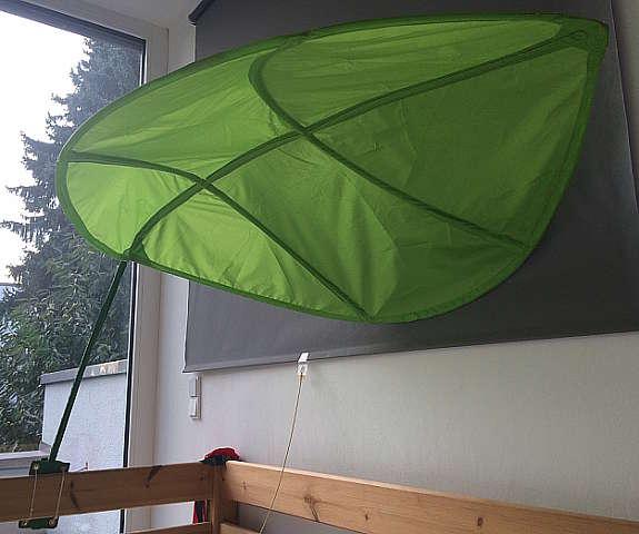 Ikea Lova Betthimmel Grunes Blatt Hoork Com
