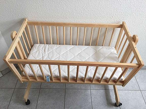 Pinolino wiege stubenwagen baby in lippetal moritz buche gebraucht