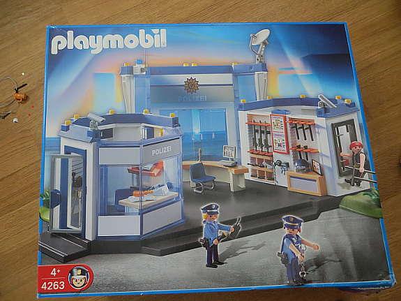 Playmobil Polizei-Hauptquartier 4263, 4266, 3925 1 - hoork com