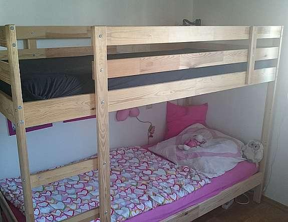 Ikea Etagenbett Mydal : Etagenbetten stockbett etagenbett kinderzimmer kiefer rollrost