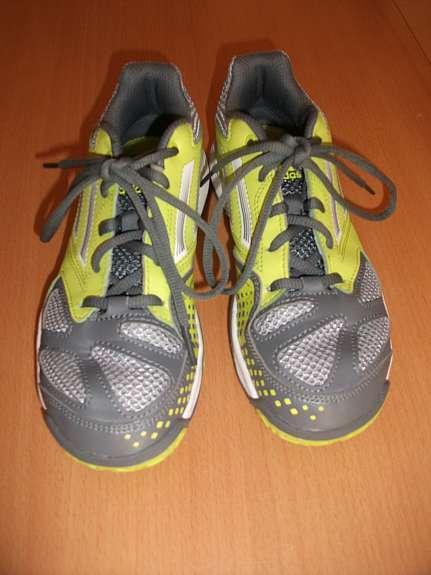 Turnschuhe Kinder 34 Größe Farbe neongelb Adidas Adituff grau wBqxf6