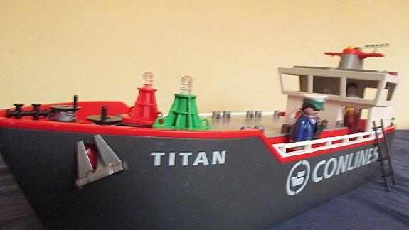 Gebrauchtes Playmobil Schiff Frachtschiff Zu Verkaufen Hoork Com