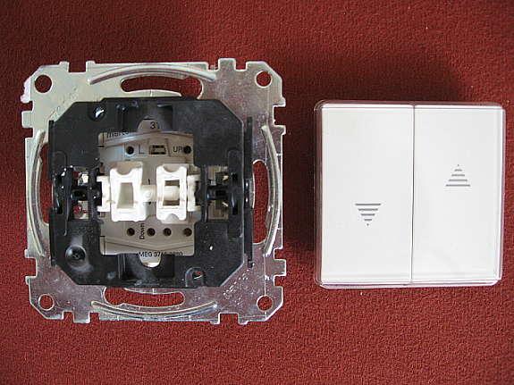 Merten 432419 Wippe polarweisss System M für Rolladenschalter