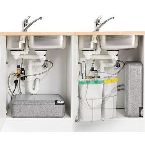 Inventum modesto untertisch 10l kleinspeicher for Kaltwasseranschluss kuche