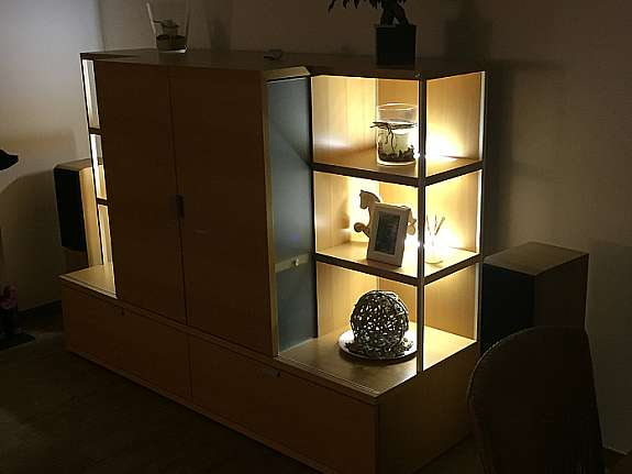 h lsta wohnwand tameta. Black Bedroom Furniture Sets. Home Design Ideas