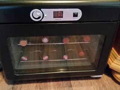 Bomann Kühlschrank Ks 2261 : Mini weinkühlschrank schwarz wie neu hoork