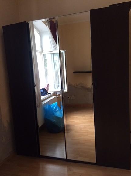 Pax Schrank Dunkelbraun M Spiegelturen Und Innenausttattung Ikea