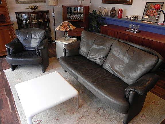 Gut Ein Cooler Vintage Rindleder Sessel Von Rolf Benz   Modell Creation 4600    Mit Gütepass.