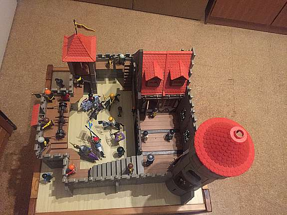 große ritterburg playmobil aufbauanleitung
