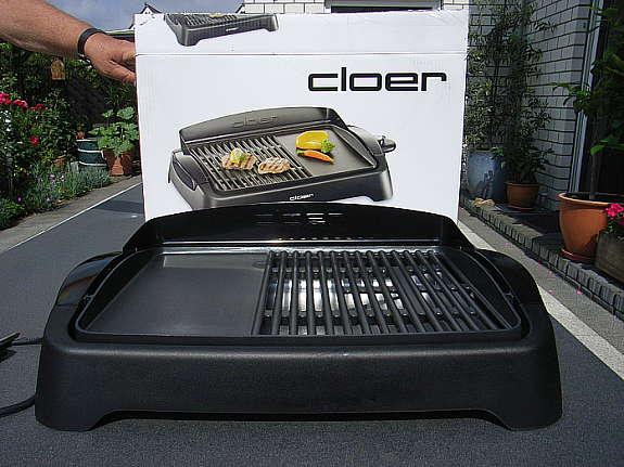 Severin Elektrogrill Gebrauchsanweisung : Barbecue elektrogrill von cloer hoork
