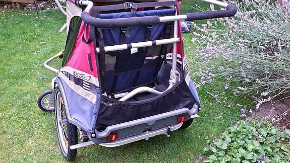 Thule Chariot Captain Xl 2 Sitzer Fahrradanhanger Top Zustand