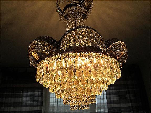 Antike Kronleuchter Verkaufen ~ Korblüster kronleuchter italien flam bleikristall farbe antik