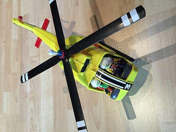 Playmobil Hubschrauber Air Rescue 1 - hoork com