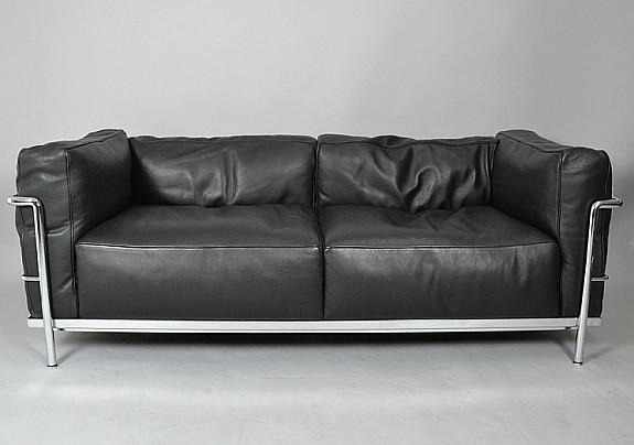 Le Corbusier Pierre Jeanneret Charlotte Perriand Sofa Lc3 Cassina