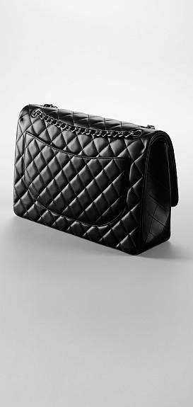 Neue Ikon Chanel Tasche Klassische Pattentasche Aus Lammleder Mit