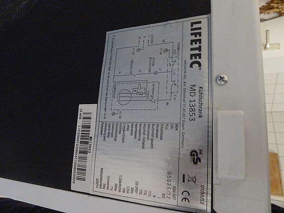 Aldi Nord Kühlschrank Lifetec : Lifetec kühlschrank ohne gefrierfach energieklasse a hoork