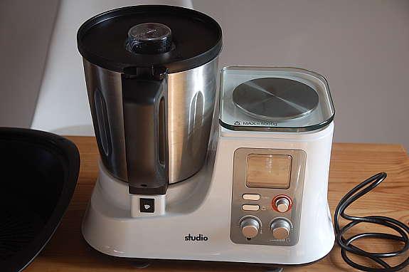 ALDI Studio Küchenmaschine mit Kochfunktion (ähnlich Thermomix) 1 ...