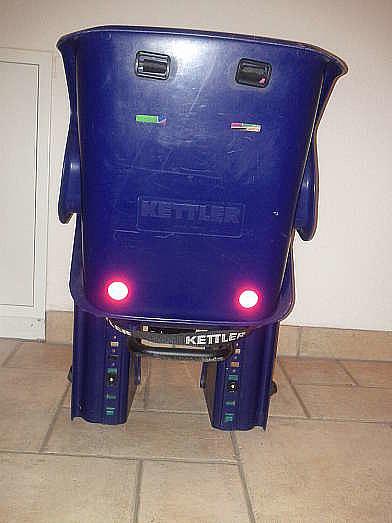 Blauer Kinderfahrradsitz Von Kettler Mit Rahmenbefestigung Hoorkcom