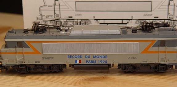M rklin 3320 record du monde paris 1995 - Record du monde developpe couche ...