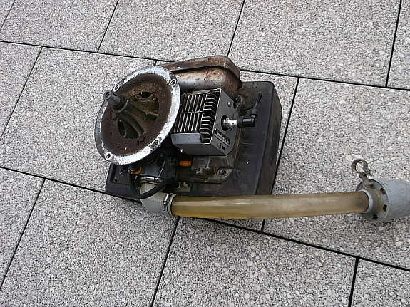 gebrauchten sabo rasenmäher motor